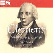 Clementi: Sonatas Opp. 3, 4, 14 & 36 by Gino Gorini