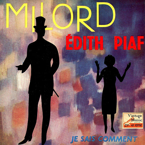 Vintage French Song Nº 69 - EPs Collectors, 'Milord' by Edith Piaf