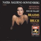 Brahms & Bruch: Violin Concertos by Nadja Salerno-Sonnenberg