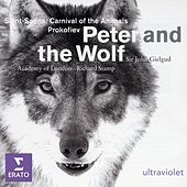 Peter and the Wolf/ Carnival of the Animals de Sir John Gielgud