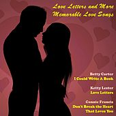 Love Letters and More Memorable Love Songs de Various Artists