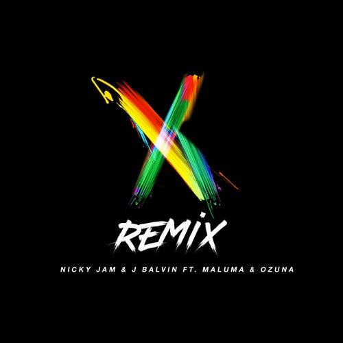 X (Remix) de Nicky Jam & J Balvin