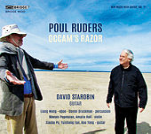 New Music with Guitar, Vol. 11: Poul Ruders – Occam's Razor de Various Artists