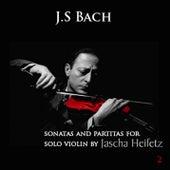 Johann Sebastian Bach : Sonatas & Partitas for Solo Violin - Volume 2 de Jascha Heifetz