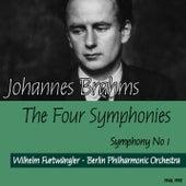 Johannes Brahms : The Four Symphonies - Symphony No1 (1948, 1952) by Wilhelm Furtwängler