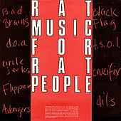 Rat Music for Rat People, Vol. 1 by Various Artists