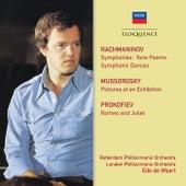 Rachmaninov, Mussorgsky, Prokofiev: Orchestral Works by Edo de Waart