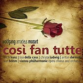Mozart: Così Fan Tutte by Vienna Philharmonic Opera Chorus and Orchestra