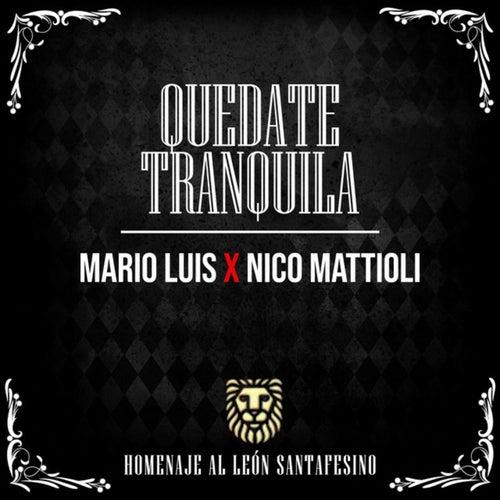 Quedate Tranquila (En Vivo) by Mario Luis