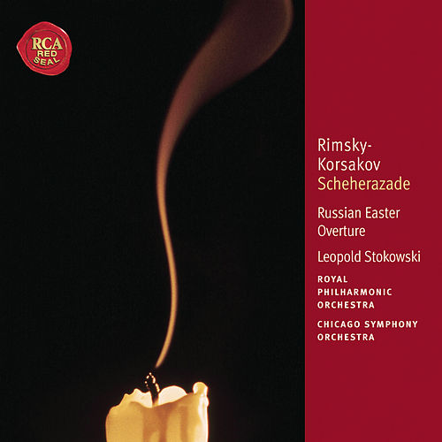 Rimsky-Korsakov: Scheherazade; Russian Easter Overture: Classic Library Series by Leopold Stokowski
