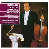Russian Cello Sonatas von Tim Hugh