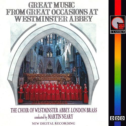 Great Music From Great Occasions At Westminster Abbey by London Brass