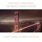 Dohnanyi: Serenade - Gruenberg: Violin Concerto de Pierre Monteux