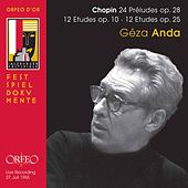 Chopin: Préludes & Études (Live) by Géza Anda
