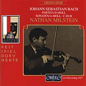 Bach: Works for Solo Violin (Live) by Nathan Milstein