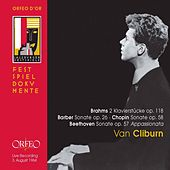Brahms, Beethoven, Barber & Chopin: Piano Works (Live) by Van Cliburn