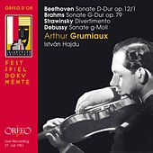 Beethoven, Brahms, Stravinsky & Debussy: Works for Violin & Piano (Live) by Arthur Grumiaux