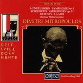 Mendelssohn, Schoenberg & Debussy: Orchestral Works (Live) by Berliner Philharmoniker