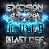 Destroid 9 Blast Off by Excision