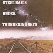 Steel Rails Under Thundering Skys by Brad Miller