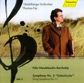 Mendelssohn, Felix: Symphonies, Vol. 5  - Symphony No. 3,
