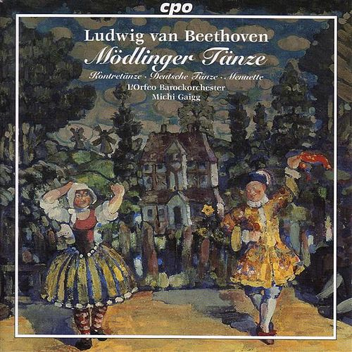 Beethoven: 12 Country Dances / 12 German Dances / 6 Minuets / 11 Modling Dances by Michi Gaigg