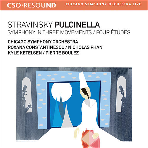 Stravinsky, I.: Pulcinella / Symphony in 3 Movements / 4 Etudes by Various Artists