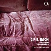 C. P. E. Bach: Symphonies & Cello Concerto (Alpha Collection) von Café Zimmermann