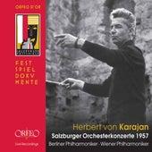 Salzburger Orchesterkonzerte 1957 (Live) von Various Artists