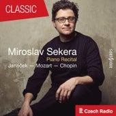 Piano Recital: Miroslav Sekera (Janáček, Mozart, Chopin) de Miroslav Sekera