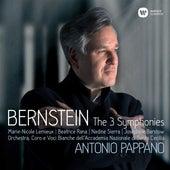 Bernstein: Symphonies Nos 1-3, Prelude, Fugue & Riffs by Antonio Pappano