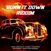 Burn It Down Riddim by Various Artists