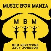 Music Box Versions of Jack Johnson de Music Box Mania
