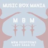 Music Box Versions of Lady GaGa V2 de Music Box Mania