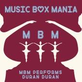 Music Box Versions of Duran Duran de Music Box Mania