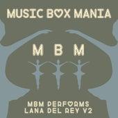 Music Box Versions of Lana Del Rey V2 de Music Box Mania