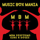 Music Box Versions of Guns N' Roses de Music Box Mania