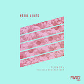 Flowers by Neon Lines