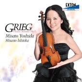 GRIEG: Violin Sonata No. 3 in C Minor Op. 45 Etc. de Misato Yoshida