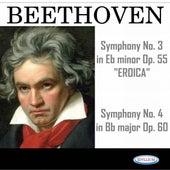 Beethoven: Symphonies N° 3 Eroica, Op. 55 and N° 4, Op. 60 by Armonie Symphony Orchestra