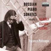 Balakirev, Glazunov, Kosenko: Russian Piano Sonatas Vol. 1 de Vincenzo Maltempo