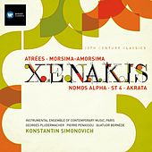 Iannis Xenakis: Atrées, Morsima-Amorsima, Nomos Alpha, ST 4, Achorripsis by Various Artists