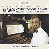 Bach, J.S: Complete Toccatas and Fugues (The) by David Schrader