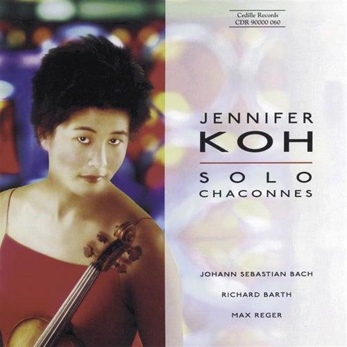 Bach / Barth / Reger: Violin Music by Jennifer Koh