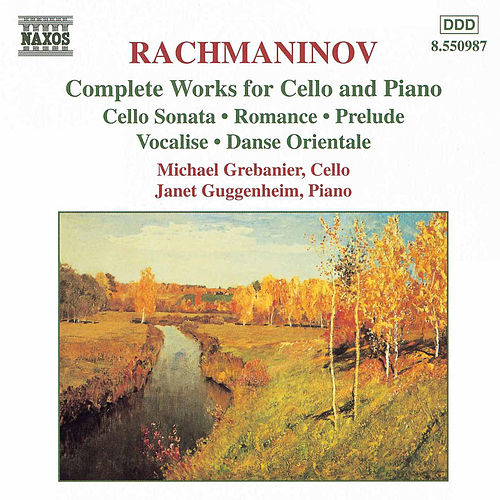 Complete Works for Cello and Piano by Sergei Rachmaninov
