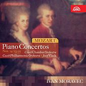 Mozart : Piano Concertos / Moravec, Czech Chamber Orch., CPO/Vlach de Ivan Moravec