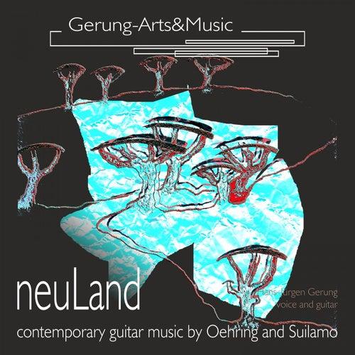 Neuland (Werke für Gitarre und Stimme) by Hans-Jürgen Gerung