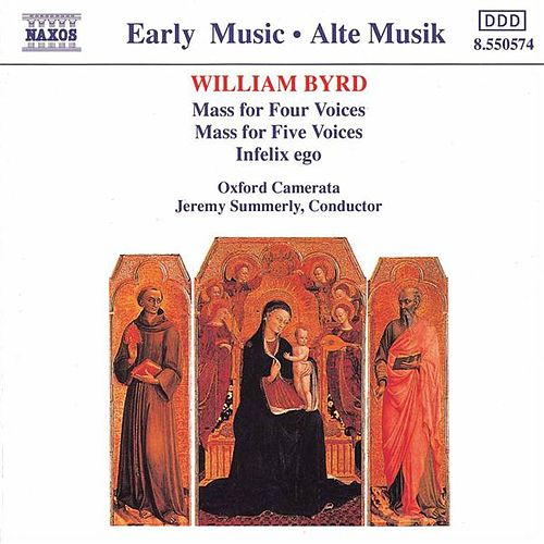 Masses for Four and Five Voices by William Byrd