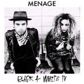 Black And White TV von Menage