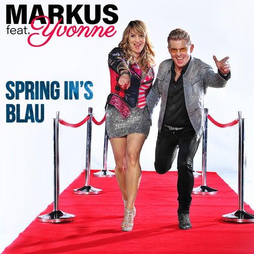 Spring in's Blau von Markus